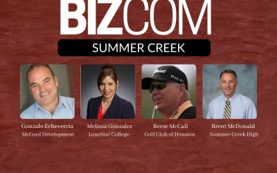 Generation Park Trail Systems, New LoneStar President & High Achieving School News Shared at Summer Creek BizCom