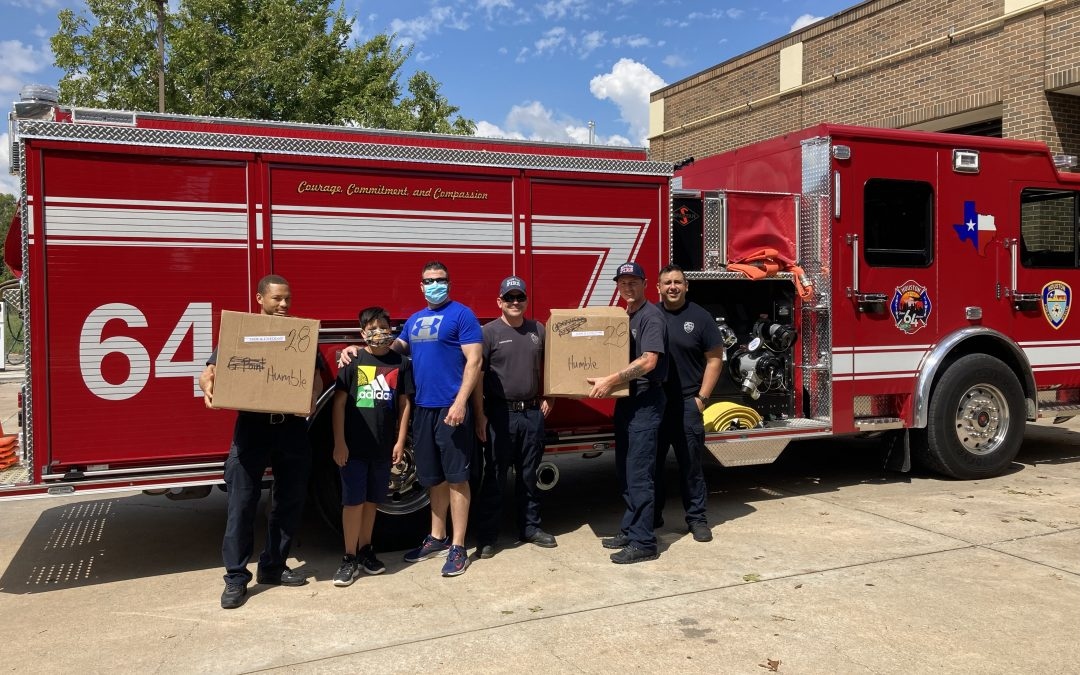 185 Meals Delivered to First Responders and Social Services During Tropical Storm